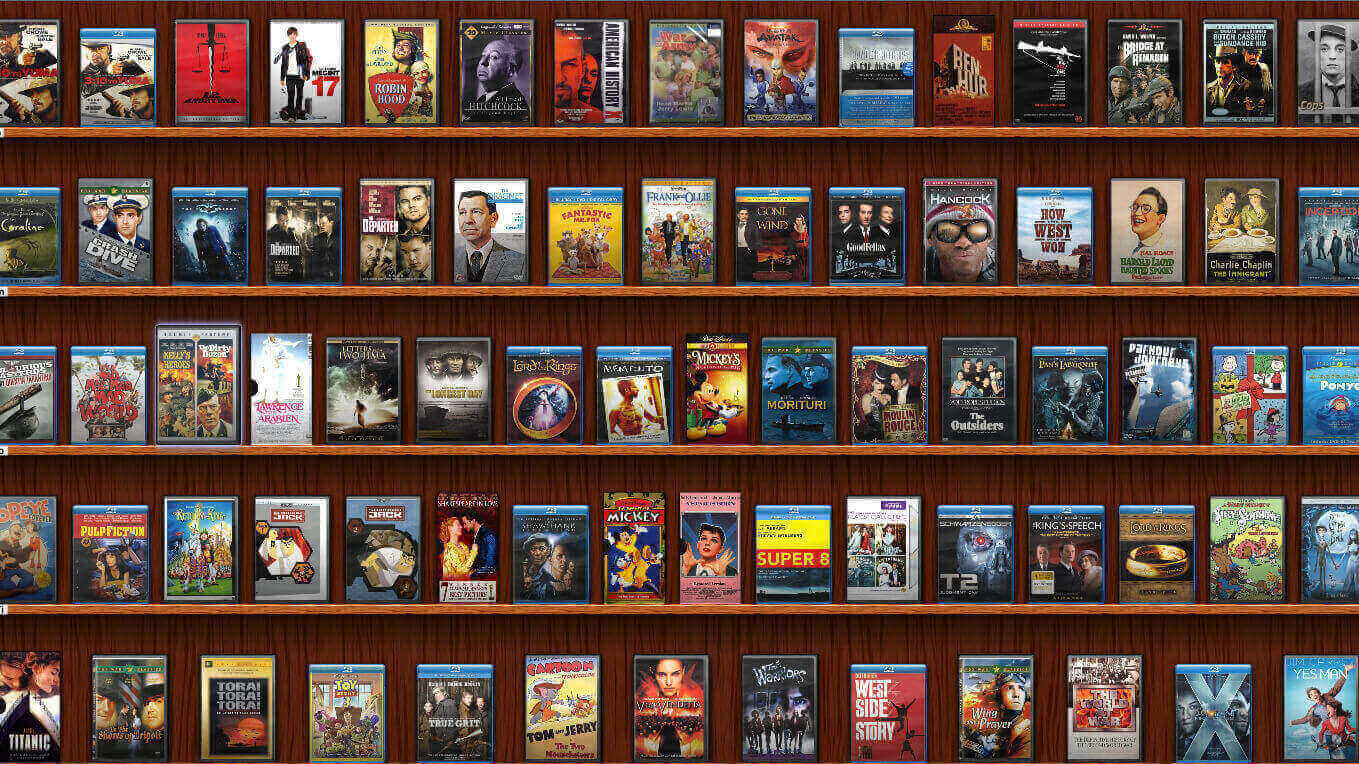 image showing a collection of movies