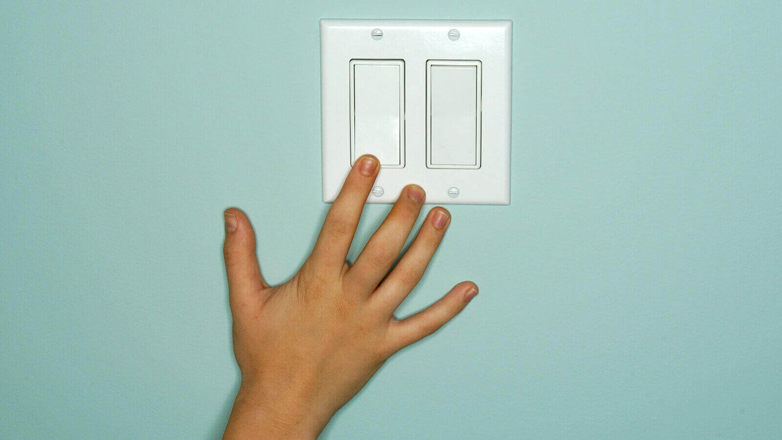 image showing a light switch