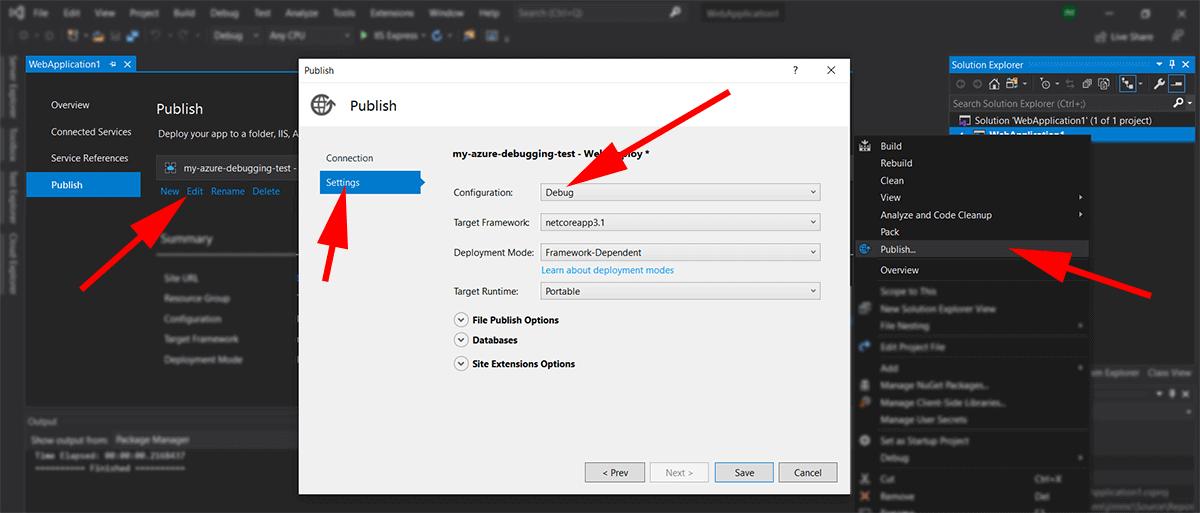 screenshot showing azure storage explorer
