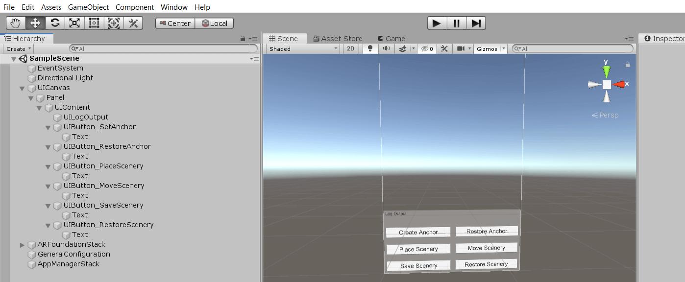screenshot UI