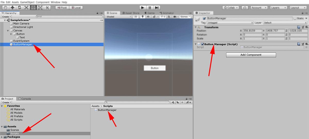 screenshot added ButtonManger object