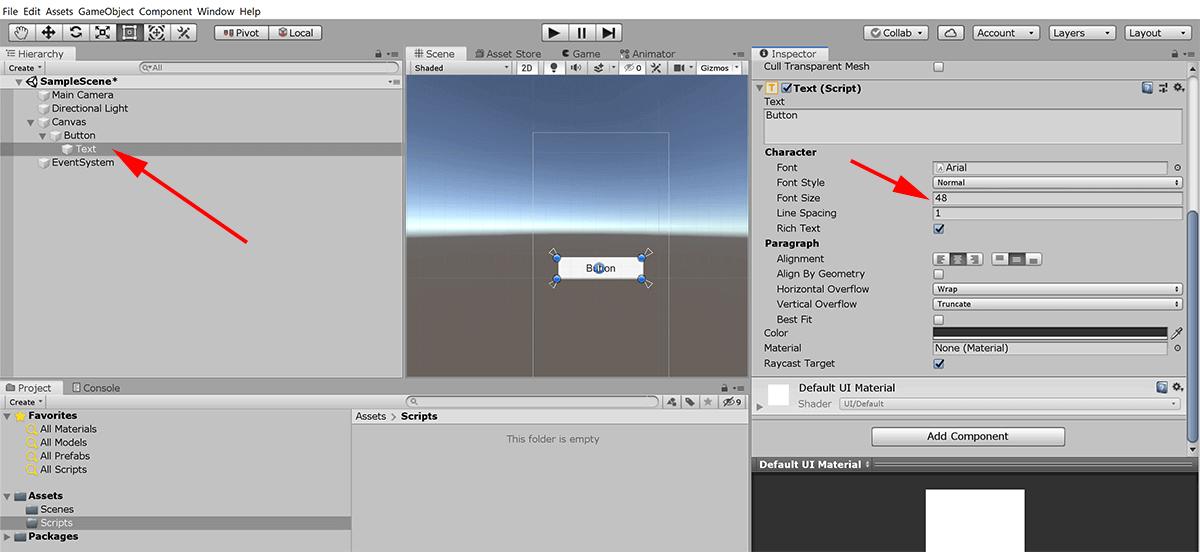 screenshot making button element larger